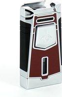 Colibri jet aansteker Empire rood/ chroom
