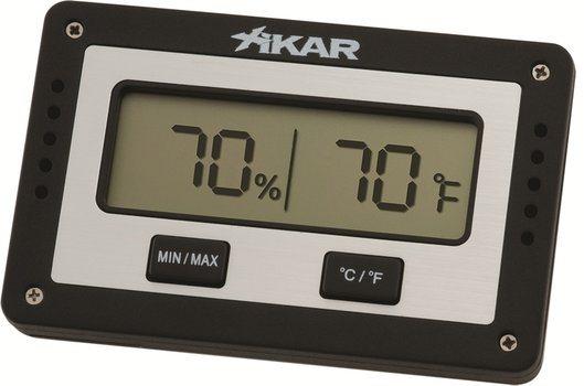 Xikar digitale humidor hygrometer rechthoekig