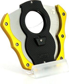 Colibri 'Monza Cut' zwart/ geel