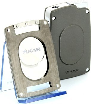 Xikar Ultra Combinatie Knipper/ Aansteker Set Gunmetal