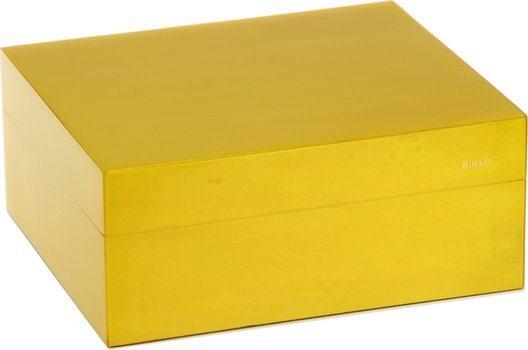 Siglo Humidor S maat 50 geel