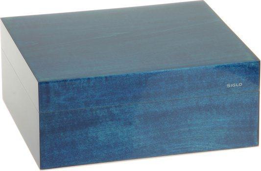 Siglo Humidor S maat 50 blauw