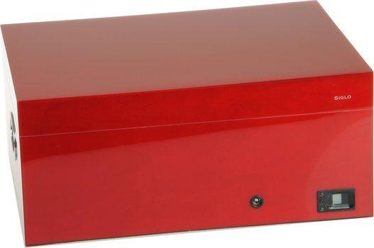 Siglo Humidor vingerafdruk rood