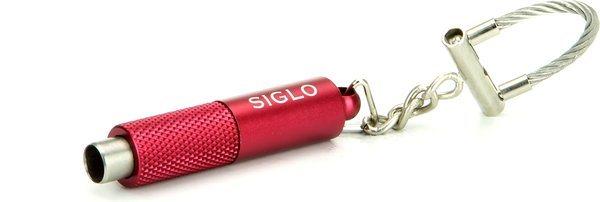 Siglo Perforeuse Porte-clefs rouge métallisé