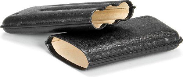 Colibri Corona en cuir cigare noir sur noir