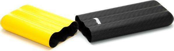 Adorini Carbon Hoes voor 3 Coronas Geel/ Zwart