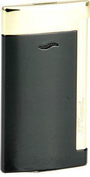 ST Dupont Slim 7 27708 - zwarte en gouden afwerkingen