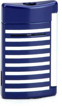 ST Dupont Minijet 10105 - Rayures blanches/ bleu marine