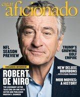 Cigar Aficionado magazine Sept/OCT 15