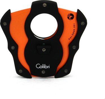 Colibri  'Cut ' Coupe-cigare Noir / Orange