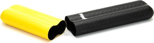 Adorini Carbon Hoes voor 2 Coronas Geel/ Zwart