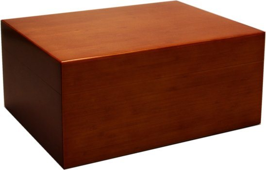 Humidor Bamboo Bruin Frosted 50