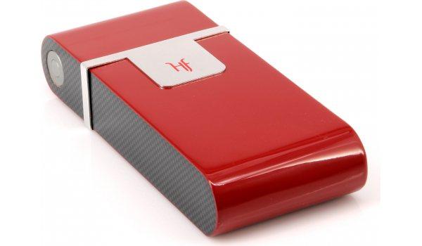 Cave à cigares  de poche rouge HF Barcelona R
