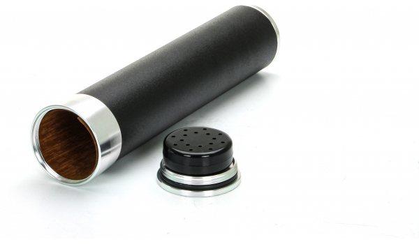 Reishumidor 3 Sigaren Zwart / Goud