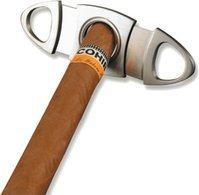 Adorini ovalen sigarenknipper van edelstaal