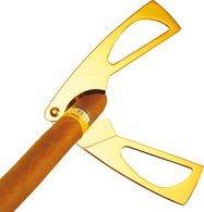 Adorini ciseaux coupe-cigares dorés