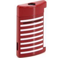 ST Dupont Minijet 10107 - Marinekleurige rode witte strepen