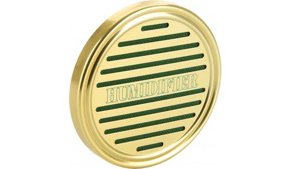 Luchtbevochtigingsspons rond goud