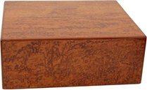 Elie Bleu Bubinga houten 50-Sigaar Humidor