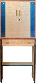 Cabinet Elie Bleu Flor De Alba 600 cigares Sycomore naturel
