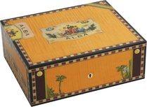 Elie Bleu Wooden Humidor 'Alba' orange sycamore