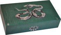 Cave Elie Bleu Nacre Serpent Edition limitée Verte (numérotée 1-8)