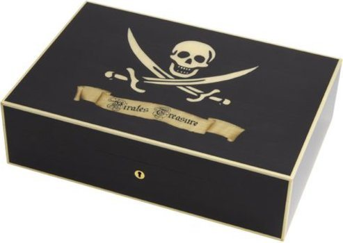 Cave Elie Bleu Pirate Sycomore noir 110 cigares
