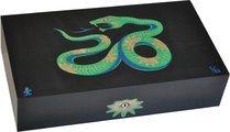 Cave Elie Bleu Sycomore Marqueterie Serpent Edition Limitée Noire (numérotée de 1 à 88)