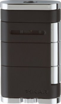Briquet accendino single jet Allume noir