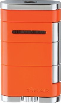 Briquet Xikar single Jet Allume orange
