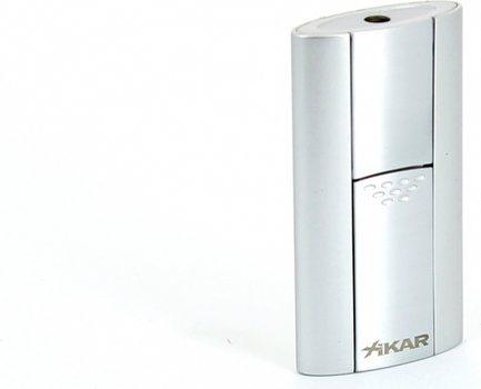 Xikar Flash Single Jet Flame Aansteker Zilver