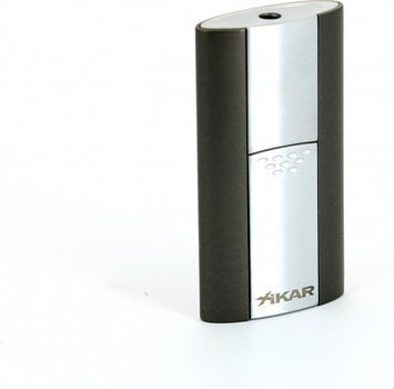 Xikar Flash Single Jet Aansteker Gunmetal