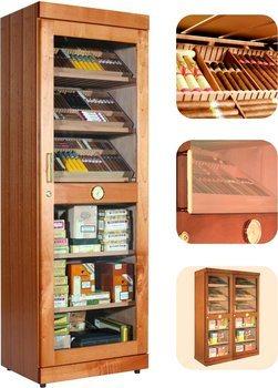 Adorini Roma (cedro) electronic cabinet humidor
