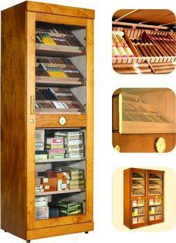 Adorini Roma (mahonie) elektronische humidor kabinetkast