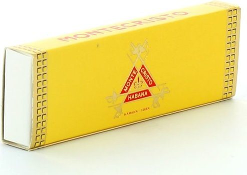 sigaar lucifers 'Montecristo'