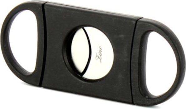 Zino Dubbel lemmet sigaarknipper zwart foto 2