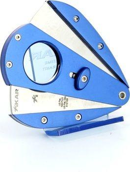 Xikar 1 dubbel lemmet sigarenknipper - Xi1 blauw