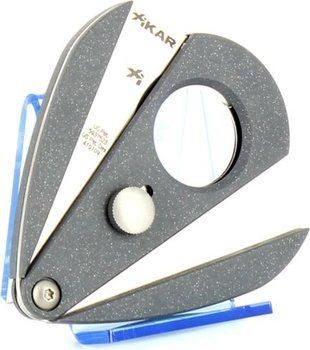 Xikar 2 dubbel lemmet sigarenknipper - Xi2 zilver