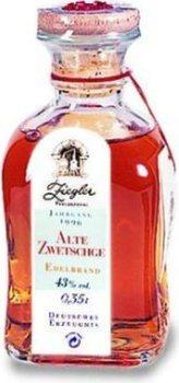 Ziegler Oude Pruim 0,35l - 1996 vintage - eau de vie