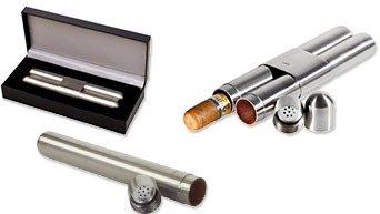 Metalen Sigarenetui